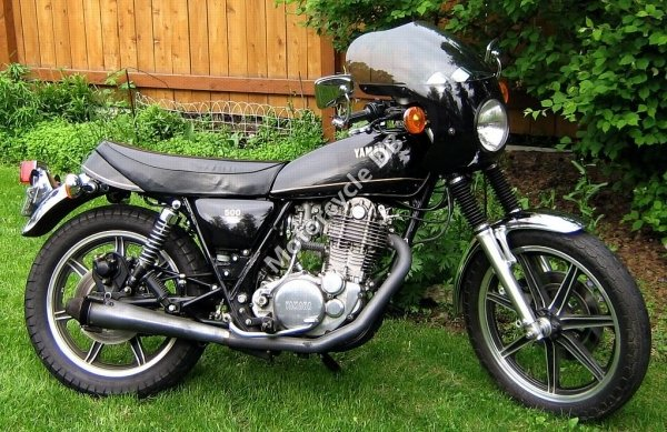 Yamaha SR 500 S (spoked wheels) 1980 15637