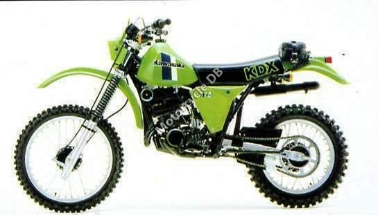 Kawasaki KDX 175 1980 1340