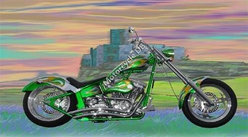 Titan Sidewinder Custom Softail Chopper 2009 8978