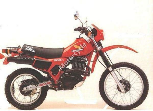 Honda XL 500 R 1983 9584 Thumb