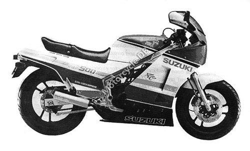 Suzuki RG 500 Gamma 1987 28197