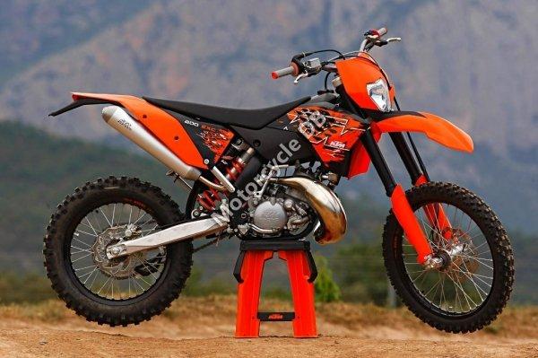 KTM 200 EXC 2010 8714