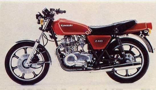 Kawasaki Z 440 C 1980 16252