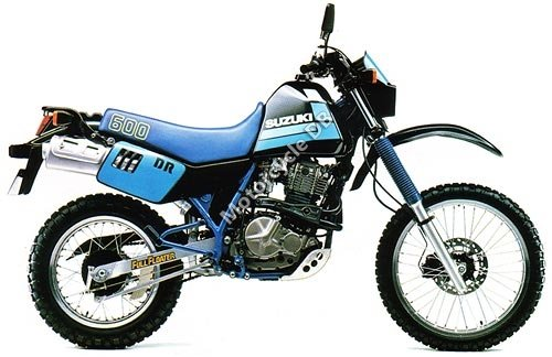 Suzuki DR 600 S 1987 12380