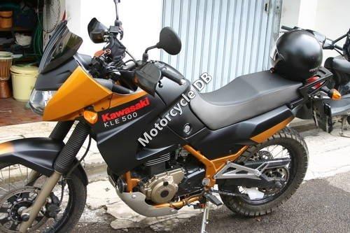 Kawasaki KLE 500 (reduced effect) 1991 12244