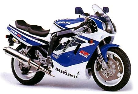 Suzuki GSX-R 1100 (reduced effect) 1991 11729