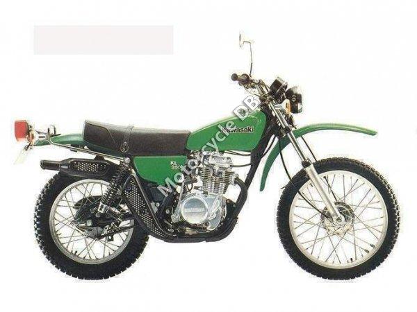 Kawasaki KL 250 1983 7693