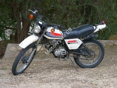 Honda XL 185 S 1982 9100