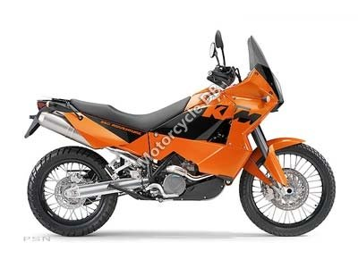 KTM 950 Adventure Orange 2006 9857
