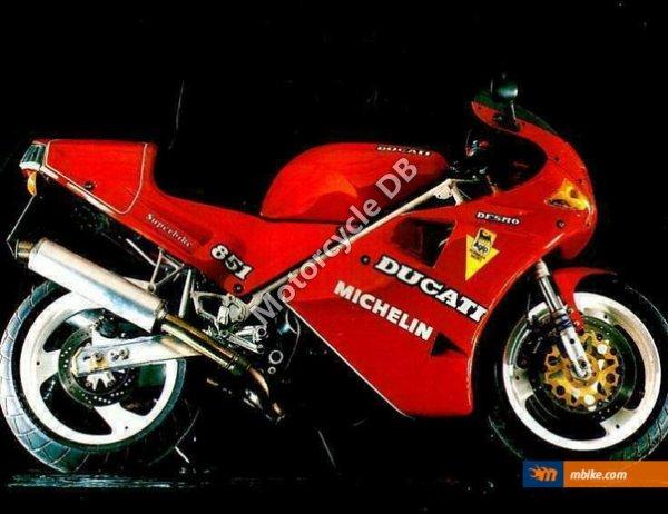 Ducati 851 Strada 1990 8006