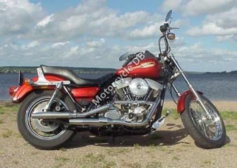 Harley-Davidson FXR 1340 Super Glide (reduced effect) 1988 7842