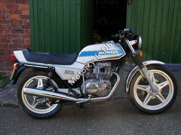 Honda CB 250 N 1984 18793