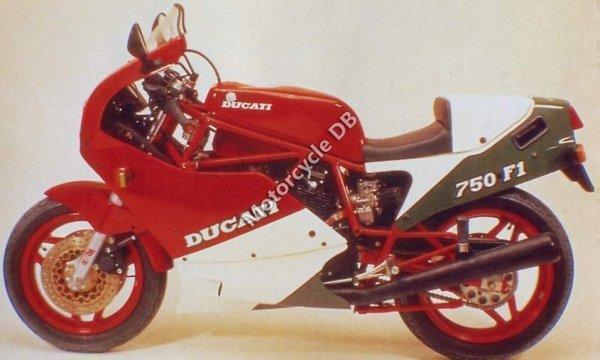Ducati 750 F 1 1987 1187