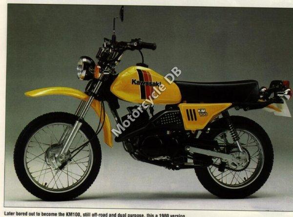 Kawasaki KM 100 1980 7436