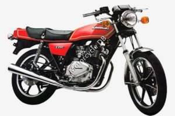 Kawasaki Z 250 LTD Belt Drive 1983 16334