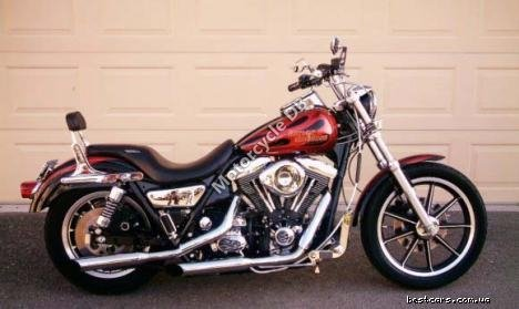 Harley-Davidson FXLR 1340 Low Rider Custom (reduced effect) 1989 20079 Thumb