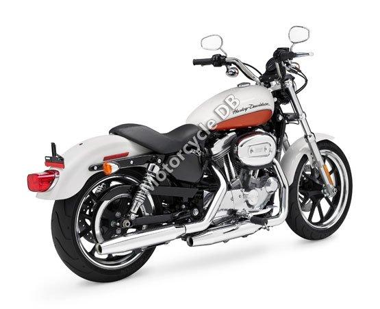 Harley-Davidson XL 883L Sportster 883 SuperLow 2011 6087