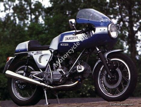 Ducati 900 SS Hailwood-Replica 1985 12098