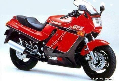 Kawasaki GPZ 305 Belt Drive (reduced effect) 1987 20021