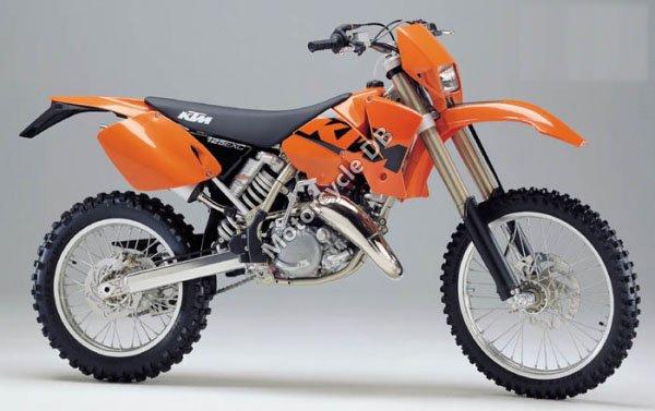 KTM 125 EXC 2001 10358