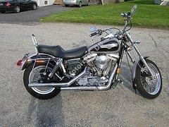 Harley-Davidson Dyna Glide Custom 1992 6961