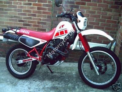 Yamaha XT 250 1989 8944