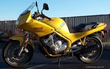 Yamaha XJ 600 (reduced effect) 1988 13175