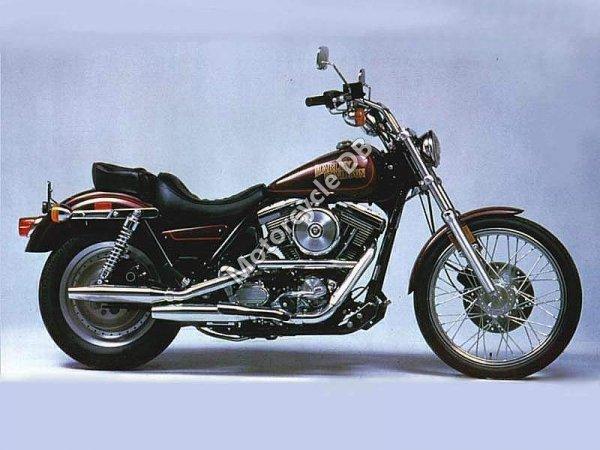 Harley-Davidson FXLR 1340 Low Rider Custom 1990 9719