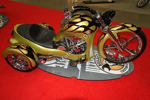 Precision Cycle Works Bagger Trike 2009 14781
