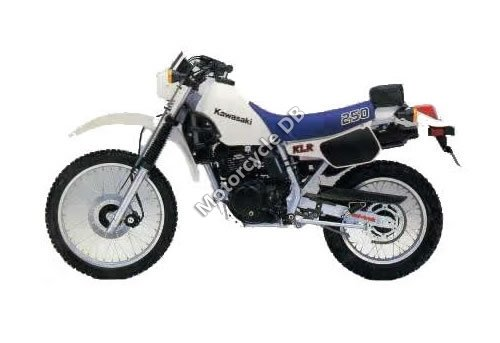Kawasaki KLR 250 (reduced effect) 1989 13028