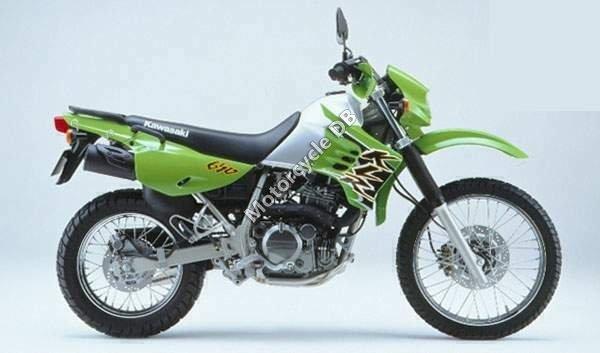 Kawasaki KLR 650 2002 1665