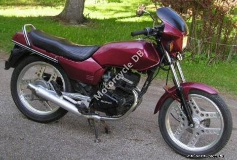 Honda CB 125 T 2 (reduced effect) 1982 8309