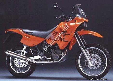 KTM Enduro 600 Rallye (reduced effect) 1989 16930