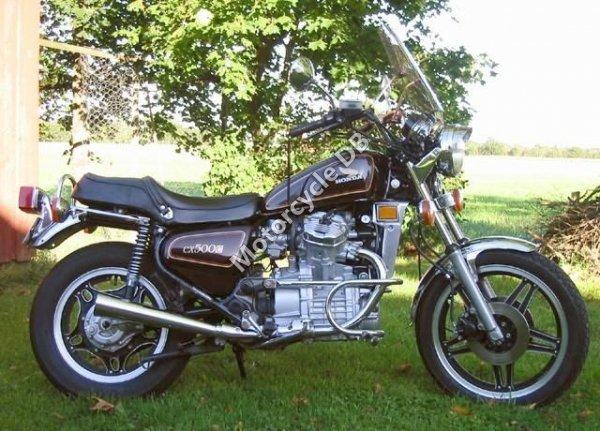 Honda CX 500 (reduced effect) 1980 14861