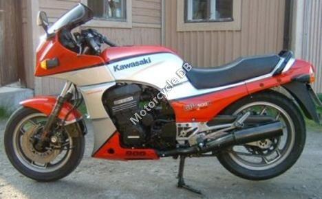 Kawasaki GPZ 305 Belt Drive (reduced effect) 1986 19607