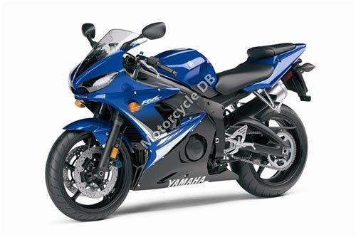 Yamaha YZF-R6S 2008 2880