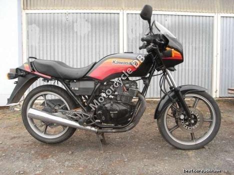 Kawasaki GPZ 305 Belt Drive (reduced effect) 1988 17722