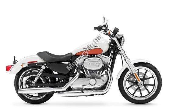 Harley-Davidson XL 883L Sportster 883 SuperLow 2011 6086
