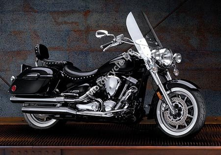 Yamaha Road Star Midnight Silverado 2006 5724