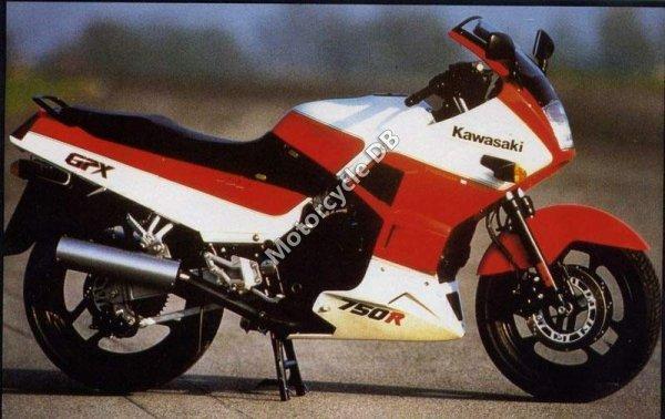 Kawasaki GPX 750 R 1989 1326
