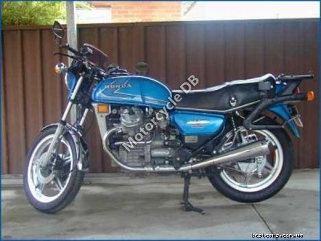 Honda CX 500 (reduced effect) 1981 12395