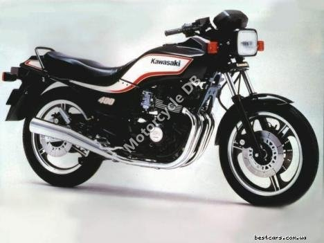Kawasaki Z 400 F (reduced effect) 1985 9099 Thumb