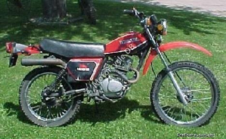 Honda XL 185 S (reduced effect) 1981 13691