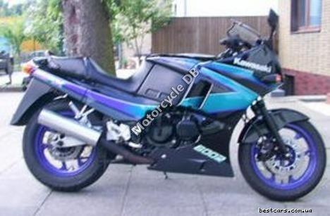 Kawasaki GPZ 600 R (reduced effect) 1987 17276
