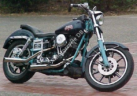Harley-Davidson FXEF 1340 Fat Bob 1984 8148