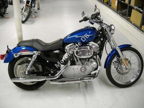 Harley-Davidson XL 883C Sportster 883 Custom 2006 8404