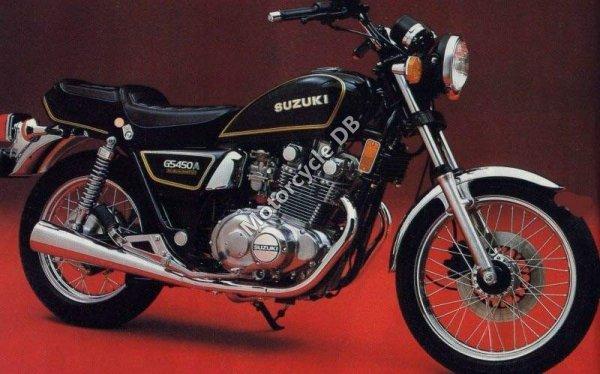 Suzuki GS450 1984 9434