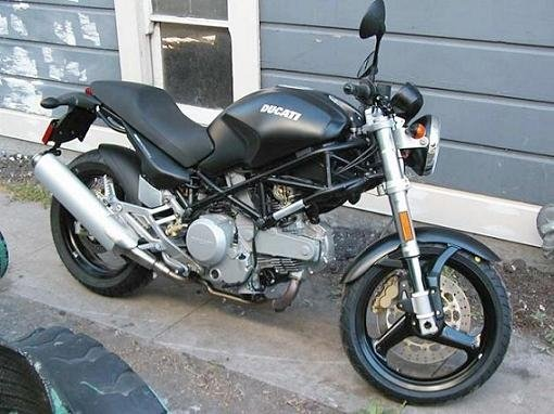 Ducati Monster 620 Dark 2006 74
