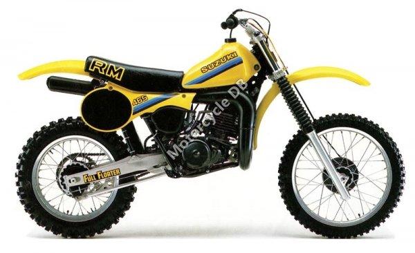 Suzuki RM 465 1981 9392