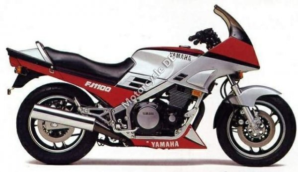 Yamaha FJ 1200 (reduced effect) 1986 21079